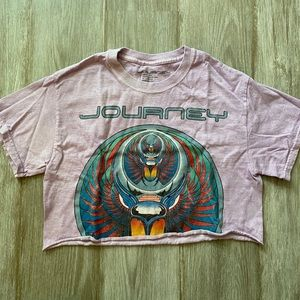 Cropped Journey Tee